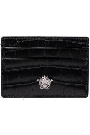Versace Embossed Medusa Head cardholder