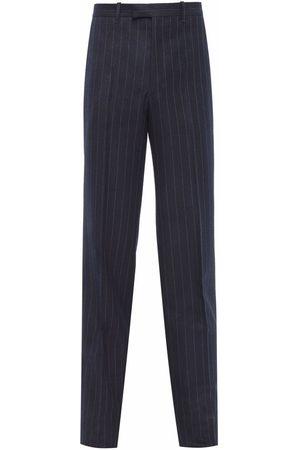 Prada Homem Calças Formal - Striped tailored trousers