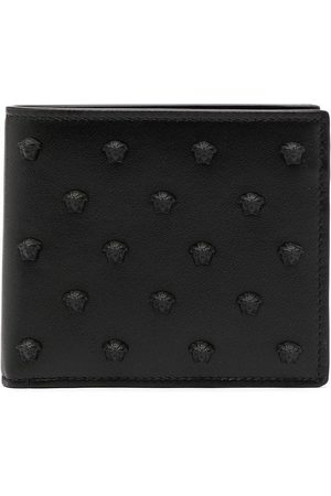 VERSACE Homem Bolsas & Carteiras - Medusa-stud bi-fold wallet