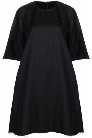 Maison Margiela Frayed-edge shift dress
