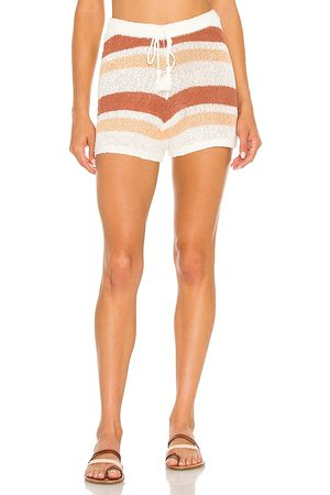 L*SPACE Oasis Short in - Brick. Size L (also in M, S, XS).
