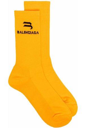 Balenciaga Logo-print socks