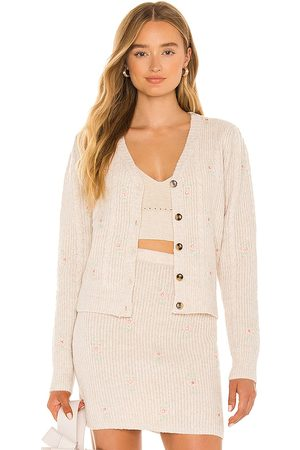 ASTR the Label Tea Party Cardigan in - Neutral. Size M (also in L, S, XS).