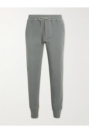 Zimmerli Tapered Stretch Modal and Cotton-Blend Sweatpants