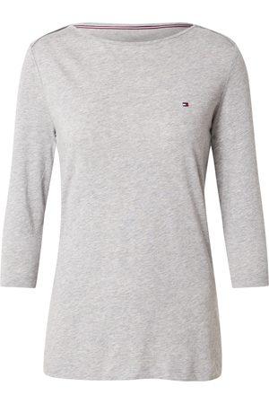 Tommy Hilfiger Mulher T-shirts & Manga Curta - Camisa 'ORG CO SLIM BOAT-NK TOP 3/4 SLV