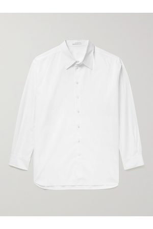 The Row Homem Casual - Lukre Oversized Cotton-Poplin Shirt