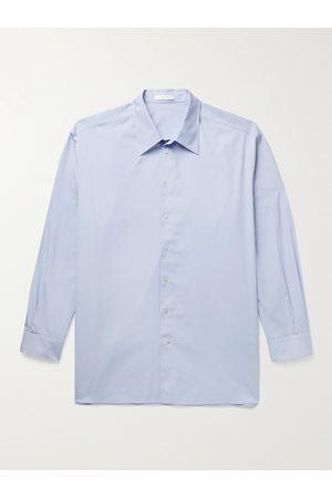 The Row Lukre Oversized Cotton-Poplin Shirt
