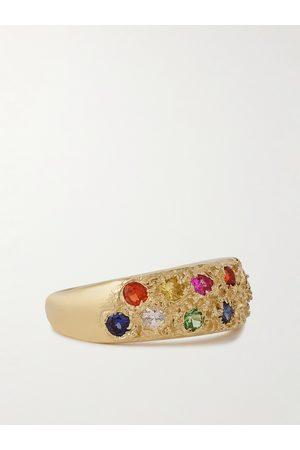 Bleue Burnham 9-Karat Recycled Sapphire Ring