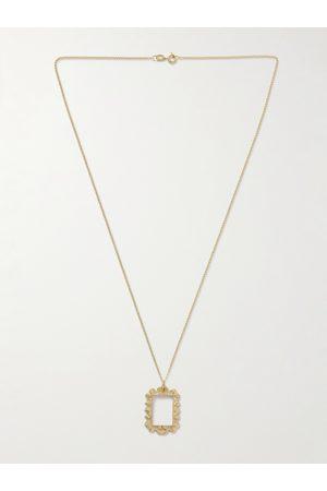 Bleue Burnham The Portrait 9-Karat Recycled Pendant Necklace
