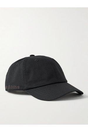 Acne Studios Homem Chapéus - Logo-Embroidered Cotton-Twill Baseball Cap