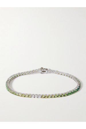 Hatton Labs Homem Pulseiras - Sterling Crystal Tennis Bracelet