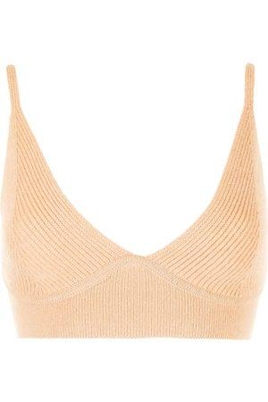 Jonathan Simkhai Ribbed knitted top