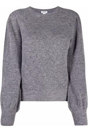 LIU JO Stud embellished jumper