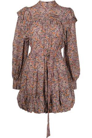 Ulla Johnson Senhora Vestidos Casual - Luna paisley-print mini dress