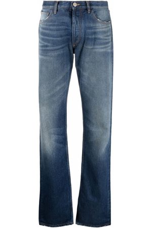 The Attico Mid-rose straight leg jeans