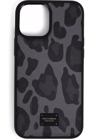 Dolce & Gabbana Leopard-print iPhone 12 Pro Max case