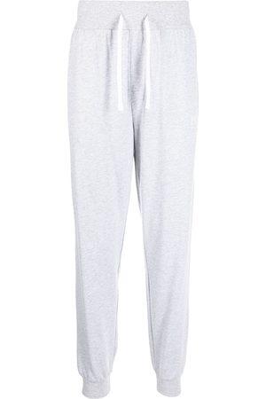 BOSS Logo-print leg trousers