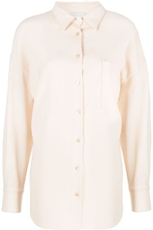 Forte Forte Long-sleeved pointed-collar shirt