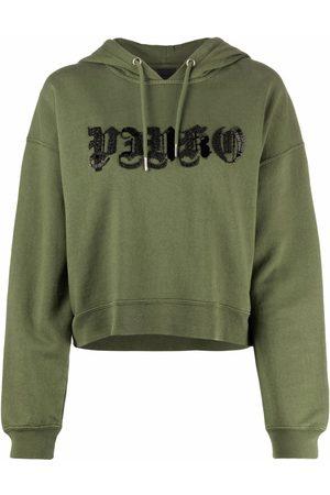 Pinko Logo drawstring hoodie