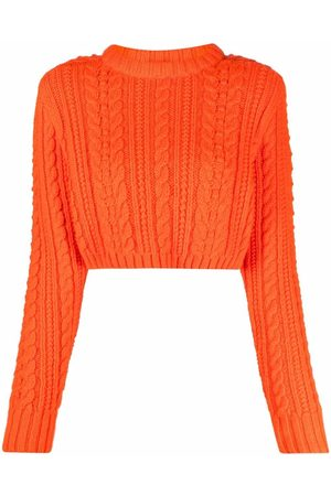 Philosophy Di Lorenzo Serafini Cable-knit wool jumper