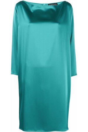 Gianluca Capannolo Long-sleeve shift mini dress