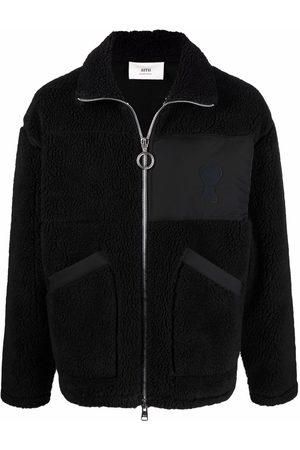 AMI Paris Homem Polares - Ami de Coeur fleece jacket