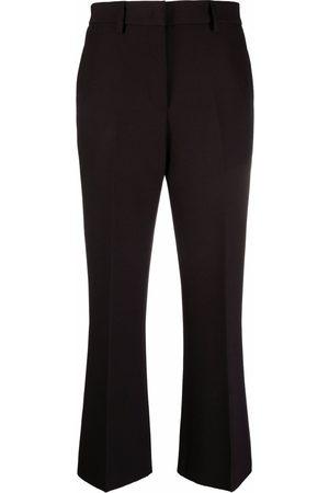 MSGM Senhora Calças Formal - High-waisted tailored trousers