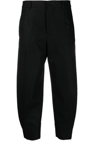 AMI Paris Tailored cropped trousers