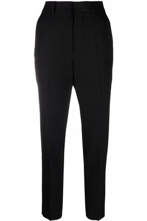 AMI Paris High-waisted tailored trousers