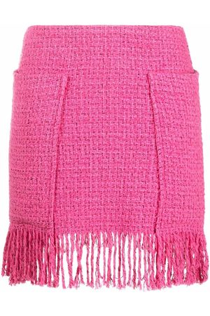 Pinko Fringed high-waisted skirt