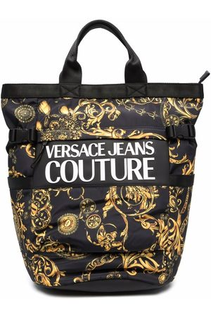 Versace Jeans Couture Baroque-print backpack