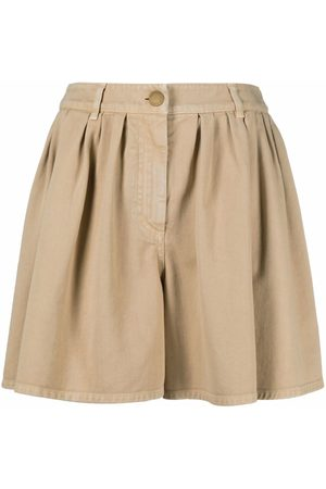 Boutique Moschino Pleated wide-leg shorts