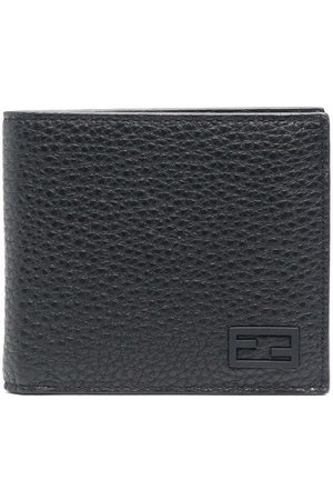 Fendi FF textured-leather wallet