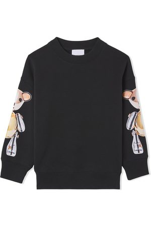 Burberry Kids Thomas Bear-print cotton sweatshirt