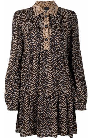 Pinko Animal-print short dress