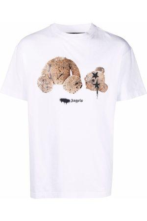 Palm Angels Bear-print logo T-shirt