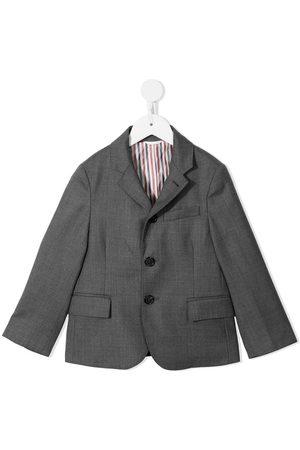 Thom Browne Kids Super 120s twill blazer
