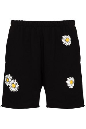Natasha Zinko Senhora Calções - Daisy print shorts