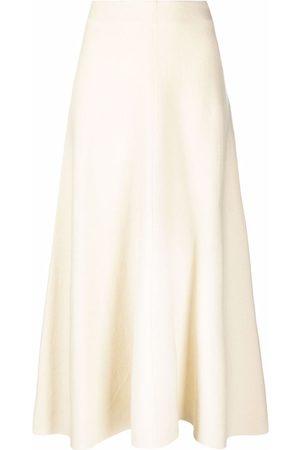 Pinko High-waisted flared skirt