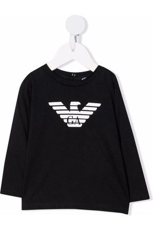 Emporio Armani Logo-print cotton T-Shirt
