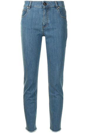 Lorena Antoniazzi Slim fit cropped jeans