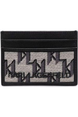 Karl Lagerfeld K/Monogram jacquard cardholder