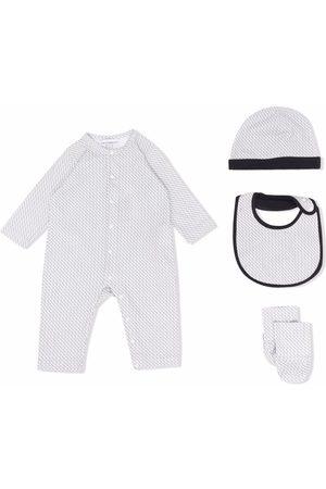 Emporio Armani Kids Bebé Sets - Logo print babywear set