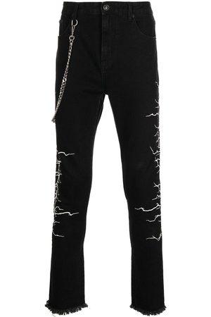 Haculla Homem Slim - Chain-link slim-fit jeans