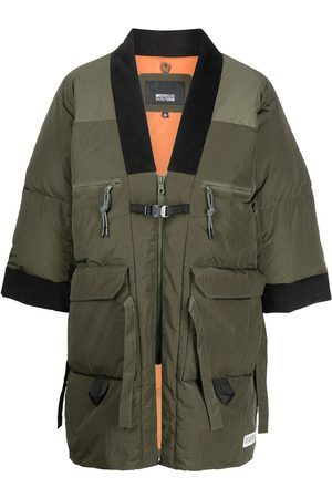 Mostly Heard Rarely Seen Homem Casacos de Inverno - Colour-block panelled padded coat