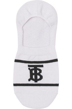 Burberry Meias - Monogram-intarsia sneaker socks