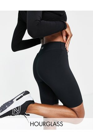 ASOS 4505 Hourglass icon booty legging short with bum sculpt detail-Black