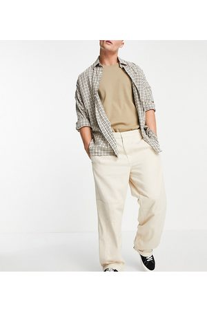 Collusion Low rise cargo trousers in ecru co ord-Neutral