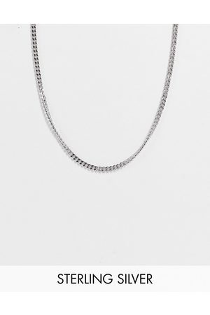 ASOS DESIGN Stainless steel slim neckchain with t-bar in silver tone