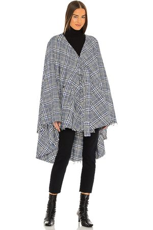 RTA Karlie Cape in - Blue. Size M/L (also in XS/S).